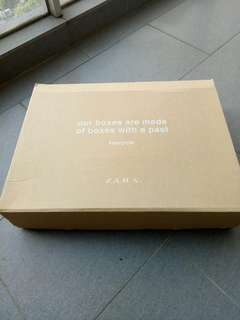 Zara empty box