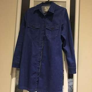 Jeans dress/dress jacket