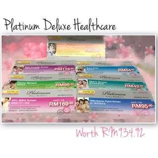 Pathlab Platinum Deluxe Healthcare Blood Test