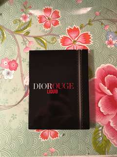 Dior rouge tester liquid lip stains