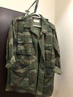 Aritzia-TNA army Jacket