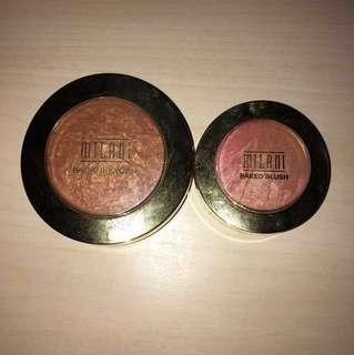 Milani baked bronzer and blush