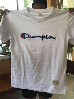 Champion T shirt (white)