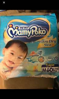 Mamypoko Diapers size M