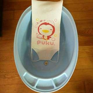 寶寶大澡盆+洗澡網