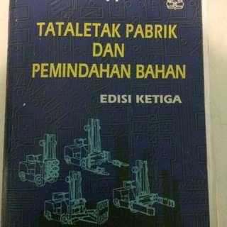 Buku Tataletak pabrik dan pemindahan bahan