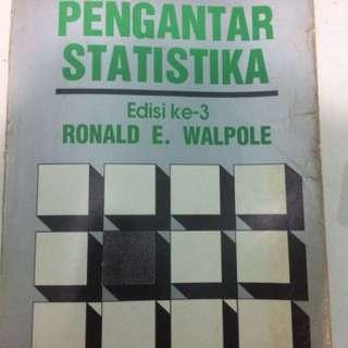 Buku Pengantar Statistika