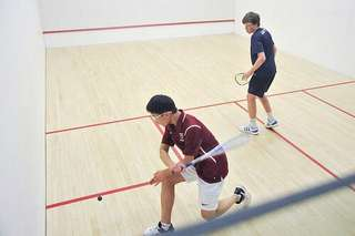 Squash Partner Player for your smack practise