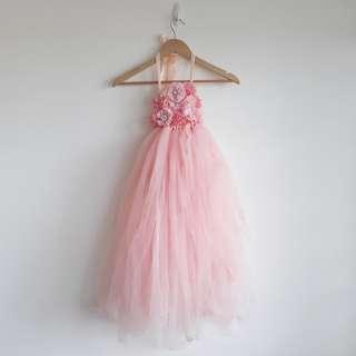 Girl Long Tutu Dress