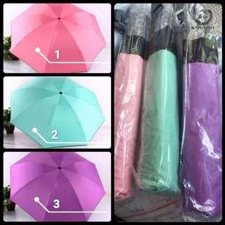 【Umbrella】八骨反向伞🌂全自动折叠扇☂️