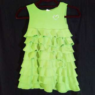 Ruffle summer dress