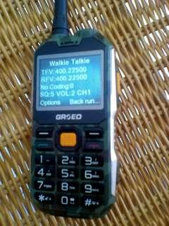 Military Phone plus walkie talkie
