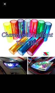 Chameleon tinted Film