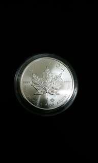 加拿大楓葉銀幣1安士足銀.999