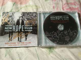 New Hope Club Welcome To The Club EP Asia Special Edition (Signed)