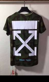 OFfwhite seeing things camo tees