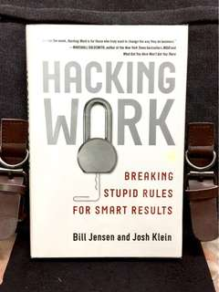 《New Book Condition + Hardcover Edition + One Of Harvard Business Review's Ten Breakthrough Ideas For 2010》Bill Jensen & Josh Klein- HACKING WORK : Breaking Stupid Rules For Smart Results