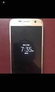 Gold Galaxy S7