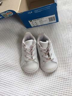 Baby girl Stan Smith adidas shoes