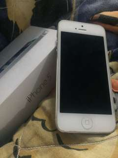 iPhone 5 [Silver]