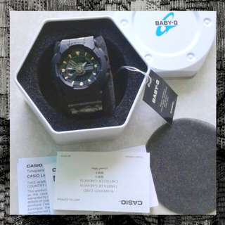 BNIP Casio Baby-G BA-110GA watch with warranty card worth $218
