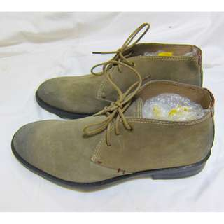 New Hush Puppies Seeger Suede Leather Shoes