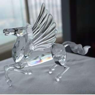 "Swarovski annual edition 1998 ""Fabulous Creatures"" - The Pegasus with designer's autograph (ref 011)"
