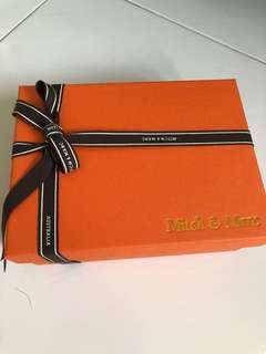 <brand new> Mitch & Marc watch and accessories box