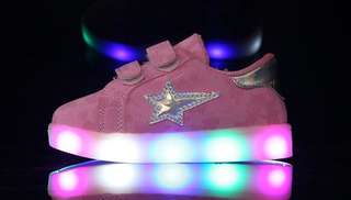 SUPERSTAR LED LIGHT UP SHOES