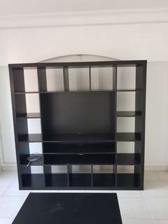 Tv rack comes compartment