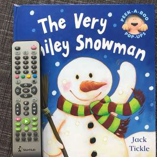 The very smiley snowman pop up book