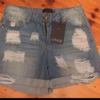 CATALOG - Denim Shorts Size 9