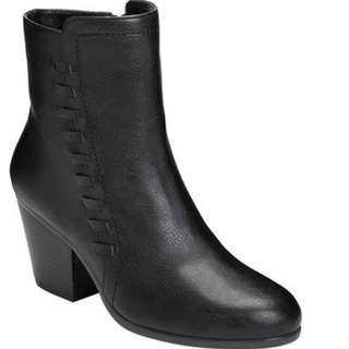 Macy's Faux Leather Ankle Boots