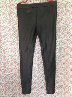 REPRICED Leather Leggings