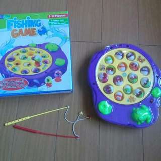 SALE! FISHING GAME. MUSICAL 2 TO 4 PLAYERS