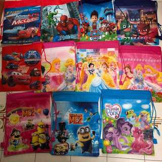 [CLEARANCE] Goodie Bag / Drawstring Bags for kids