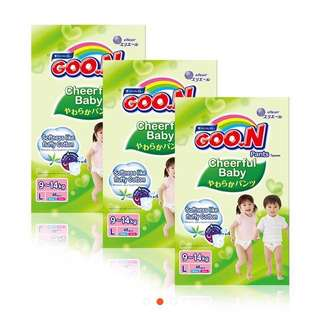 Goon Cheerful Pants L Size - 2 Packs of 48
