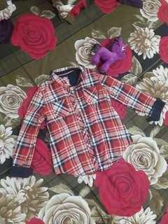 [Preloved] Plaid Shirt