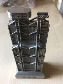 HSBC building model
