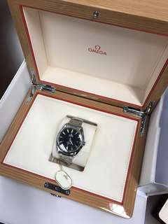 Omega Seamaster Aqua Terra 150M Omega Master Co-axial 41.5MM (just bought in Feb 2018)