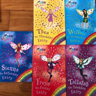Rainbow Magic near new books