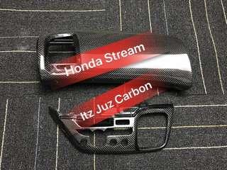 (Ready stock) Honda Stream Carbon Aircon panel