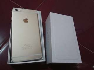 Iphone 6 plus 64 gb full set mulus 99%