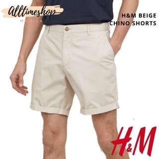 BRAND NEW! H&M Beige Chino Shorts