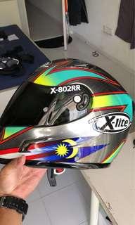 Xlite X802RR Hafizh Syahrin Helmet