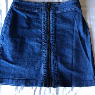 Jeans skirt sz eur36 perfect condition