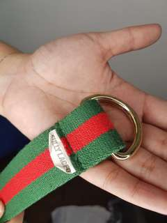 Fully Laced Gucci Belt