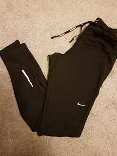 Nike running tights size xs