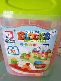 Blocks (51 pcs)