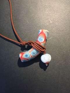 琉璃加翡翠Handmade 項鍊